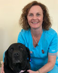 Karen Snadden, RVN at firstvets Bearsden