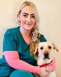 Diane Mercer, animal nursing assistant at firstvets